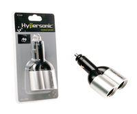 Wholesale Hypersonic V Dual Car Cigar Cigarette Lighter Socket Adapter Charger Two Ports PLUG SOCKET