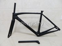 Wholesale BoB carbon fiber road bike frame with seatpost full carbon fiber bicycle frames size cm carbon road frames carbon frameset