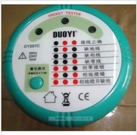 Wholesale Crown credibility in Shenzhen and a socket security detector DY207C