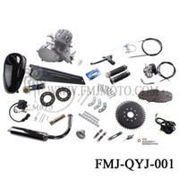 bicycle engine - Top Quality Stroke Cycle cc Motor Kits for Motorized Bicycle Silver Gas Engine dealer in China