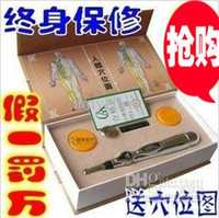 acupuncture laser pen - Newest Laser cycle energy meridians pen acupuncture stick magic electronic acupuncture pen of the meridian