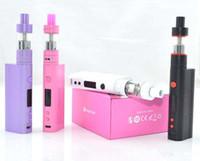 Wholesale High clone Kanger Subox Nano Starter Kit ML Subtank Nano Atomizer W Kbox nano Pink Color for woman VS Kangertech subox mini kit