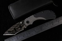 aircraft blade - STRIDER RC Osprey aircraft T head folding knife D2 titanium blade G10 handle tactical survival knife hunting camping EDC tools