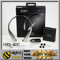 bluetooth headphones - 2015 new HBS Bluetooth headset for I phone6 wireless sport headphone For NOTE4 NOTE3 IPHONE5S LG HTC Stereo handfree neckband earphone