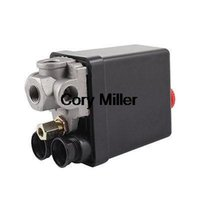 air compressor pilot valve - 240 Volt Amp Ports Black Cover Automatic Air Compressor Switch Pilot Valve order lt no track