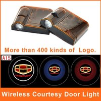 geely - LED Car Logo Door Light LED Geely Emgrand Emblem Projector Courtesy Welcome Wireless CREE Laser Ec7 Ec8 Auto Ghost Shadow