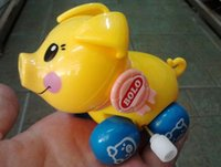 Wholesale baby amp Children s Winds up toys Winding chain cute fun pig cm children s educational toys on the chain