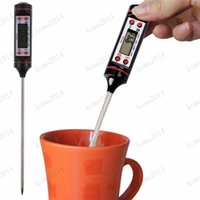 Wholesale New Digital LCD Display Food Cooking Turkey BBQ Meat Steak Probe Meat Thermometer Household Temperature Tool