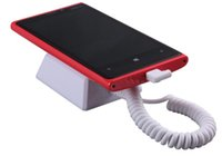 Wholesale Mobile Phone Wall Mounts Display Anti theft Alarm for Samsung Retail Anti lost