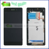 Wholesale LCD display For SONY Xperia Z2 L50W D6503 LCD Screen replacement with monthes guarantee with frame or without frame