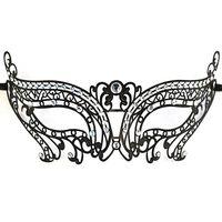 masquerade masks laser cut - Black Collection Laser Cut Metal Laser Cut Venetian Masquerade Luxury Mask butterfly mask eye mask make up cosplay props mask