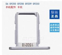 Wholesale SIM Tray for Samsung Galaxy S6 Quad Core White