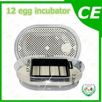 white automatic chicken incubator - Top selling good quality original automatic electrical Mini egg incubator JN12 eggs incubator poultry hatcher egg brooder setter A