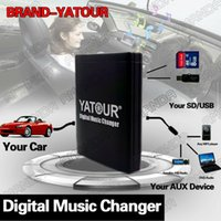 Wholesale YATOUR CAR DIGITAL MUSIC CD CHANGER AUX MP3 SD USB ADAPTER PIN CONNECTOR FOR FIAT STILO RADIOS