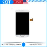 cell phone mobile spare parts - For Samsung Galaxy S3 i8190 Mini S4 Mini i9190 i9195 LCD Screen Touch Screen Assembly Cell Phone LCD Touch Panels Mobile Spare Parts