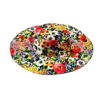 golf bucket hat - Wlmonsoon Summer Hats Women Floral Print Mom Daughter Beach Hat Chapeu Feminino Bucket Hat Girls and Womens Hats S M L Girls Hat
