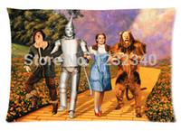 Wholesale Cool Pillowcase The wizard of oz Style Pillow Case Twin Sides x30 Inch