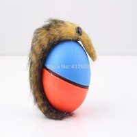 Wholesale Cute Funny Dog Cat Weasel Motorized Funny Rolling Ball Pet Appears Jump Moving Alive Toy