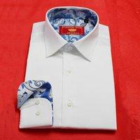bespoke tailored shirts - classic white men s bespoke tailor made business Dress Shirt