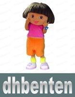dora mascot - LAI902 High quality of D DORA the explorer adult costume love expeditionary DORA mascot costume plush cartoon