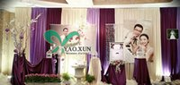 Wholesale Cheap Price Weding Backdrop Drape Curain m m
