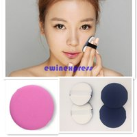 Wholesale Makeup Tools New Hot sale Freeship SOFT FACE POWDER MAKEUP COSMETIC PUFF SPONGE NEW WITH RIBBON