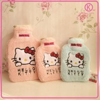 Wholesale Hello Kitty Fall and Winter Water filling hot water bag super cute fashion hand warmer hot water bottle P0342
