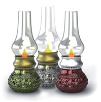 ball jars small - Energy saving Table Control Lamp Can Blow On and Off LED USB Charging Induction Lamp Retro Kerosene Lamp Bedside Lamp Small Night Light