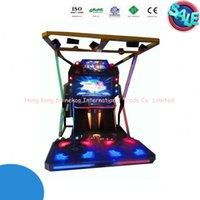 arcade game machine - Hot Sale quot LCD Simulator Drum And Dance Machine Coin Operated Electronic Arcade Entertainment Dancing Game Machine SK
