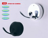 Wholesale 2pcs DVR Hanger Camera Hook DV Mini Hanger Camera FULL hd P hidden SPY camcorder video record