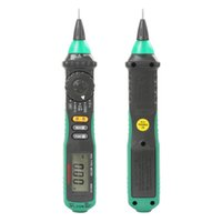 1.5V (AAA) x 2 auto range meter - MASTECH MS8211 Pen Type Digital Car Multimeter Non contact AC Voltage Detector Auto Range Multimetro Multitester Pen type Meter INS_405