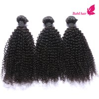 Cheap Brazilian Curly Virgin Hair Mixed 3pcs Lot Brazilian Indian Malaysian Peruvian Kinky Curly Weave Human Hair Bundles Natural Black