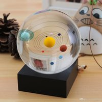 Wholesale New Celestial Crystal Ball D Solar System Crysal Ball Business gift Christmas gift Birthday gift Wedding gift