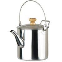 coffee pot tea pot - Stainless Steel Outdoor Camping Pot Tea Kettle Coffee Pot Water Bottles ml H14629