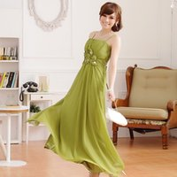 america on line - 2015 Hot Summer in Europe And America On The Red Carpet Handmade Nail Flower Trade Dress Long Dress