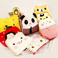 Wholesale Types Cute Cartoon Animal Pattern Tissue Paper Box Cover Napkin Holder Case