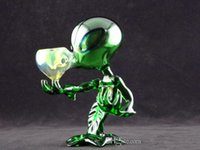 beautiful spots - Green G spot Glass Smoking pipes Alien glass pipes with high quality and beautiful design