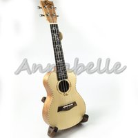 Wholesale 23inch Ukulele Concert Uke Small Guitar four Strings Musical Instruments Solid Top Spruce Wood