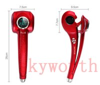 Wholesale showliss LCD hair curling artifact LCD hair Curler Styler Curling Iron Pro Hair Curler Automatic Universal Voltage