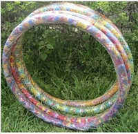 Wholesale waist hoop thin abdomen slimming hula hoop soft tube KG additional Hula Hoop Quality Hula hoops Cheap price
