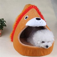 Cheap Hot sale brand new free shipping New Soft & Warm Doghouse Dog House Kennel Pet Bed Nest High Quality for SIZE S M L