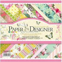 bathroom designer paper - 8 quot x quot PAPER DESIGNER Vintage Flowers Scrapbook Paper DIY Origam Scrapbook Paper Pad designs