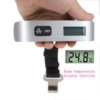 Wholesale Portable Digital Scale kg Lage Scale Hanging Weighing LCD Scale with Hook Strap electronic scales