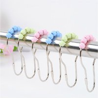 Wholesale newest and hot selling Shower Curtain Rings For Hanger Shower Curtain rings hot new products bathroom rod hook