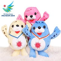 Wholesale Mascot doll plush toy souvenir cartoon light