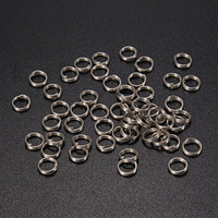 Wholesale High Quality Stainless Steel Split Rings For Fishing Lures Tackle Rigs mm One pack small order no tracking