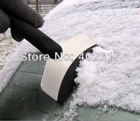 Cheap wholesale 2013 winter stainless steel ice shovel snow shovel car snow removal tooling in winter a good helper free shipping