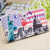 Wholesale 2015 Women Wallets New Ladies Long for Graffiti Handmade Ethnic Style Leather Purse Money Wallet Women Card Package Printing