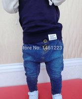 baby boy cowboy boots - Boys and girls page haroun pants big baggy pants cowboy pants baby foot trousers can open fork