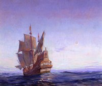 ancient artists - Frank Vining Smith decoration oil painting Ancient Mariner famous artist reproduction